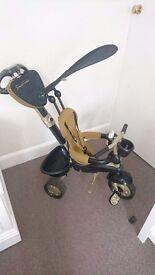 Smart Trike Dream 4-in-1 Touch Steering Trike - Gold
