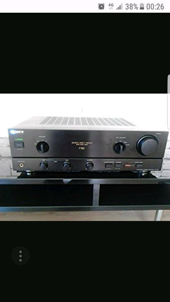 SONY TA-F170 amp
