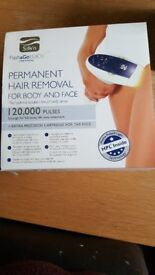 Permanent hair removal for body and face.