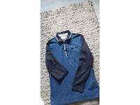 Ted Baker boys polo shirt age 12 - 13 blue