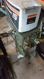 15hp Johnson outboard engine