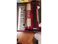 accordion****horch*germany * 120 bass**** GOOD CONDITION , GOOD PLAY***** with case