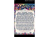 1x Boomtown Weekend Ticket