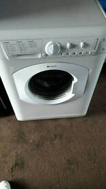 Hotpoint washing machine working can deliver