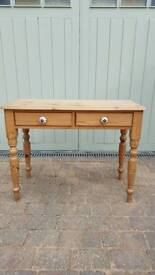 Solid pine dressing/Hall table