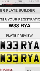 W33 RYA private reg for sal