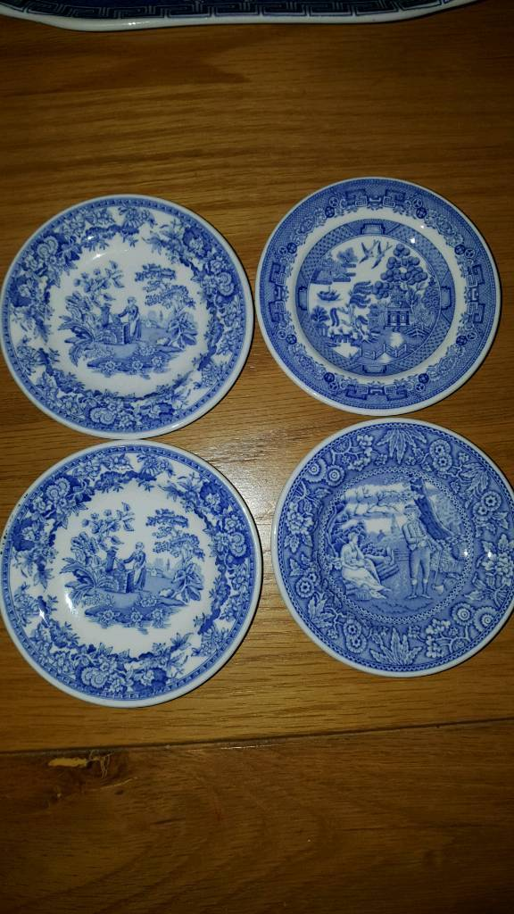 Spode, Set of 4 small plates