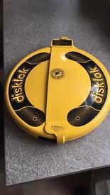 SOLD Disklok steering lock