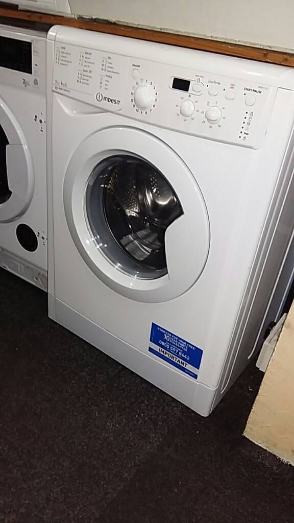Brand New**Indesit washer dryer IWDD7123 7.5KG Water balance PRP £339.99 Warranty Included Grade A
