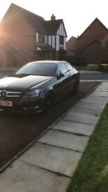 Mercedes-Benz C220d Coupe AMG blueefficiency Auto