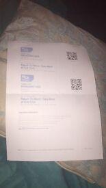 2 Gary Beck tickets, subclub