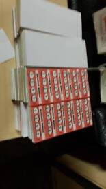 39 books of single sheet quickie bingo