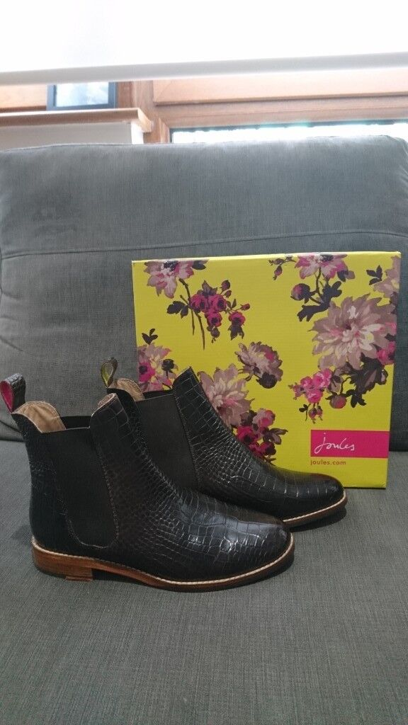 859fb584c39cc NEVER WORN Joules Women's Size 5 Westbourne Chelsea Boots (with box)