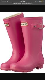 Hunter wellies size 13