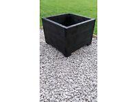 wood garden pot square planters New!