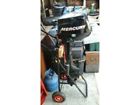 Mercury 3.5hp engine for sale