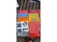 Flute Books - A selection of 8 books. Mixture of music style for intermediate ability