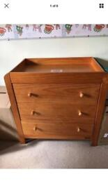 Mamas and Papas Antique Pine Vico collection Wardrobe/Drawers