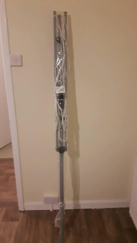 Garden washing pole