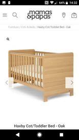 Mamas and Papas Haxby Cot/Toddler Bed