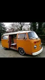 Vw baywindow Devon camper LHD
