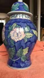 Large pottery ornament