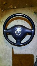 Golf gti steering wheel