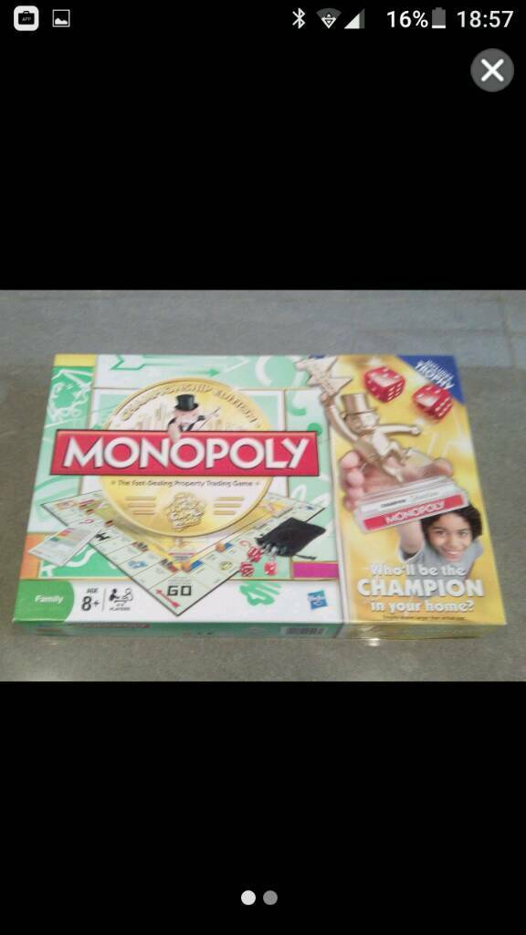 Monopoly championship edition