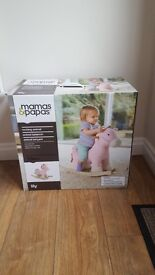 New in box Mamas & papas Rocking Horse