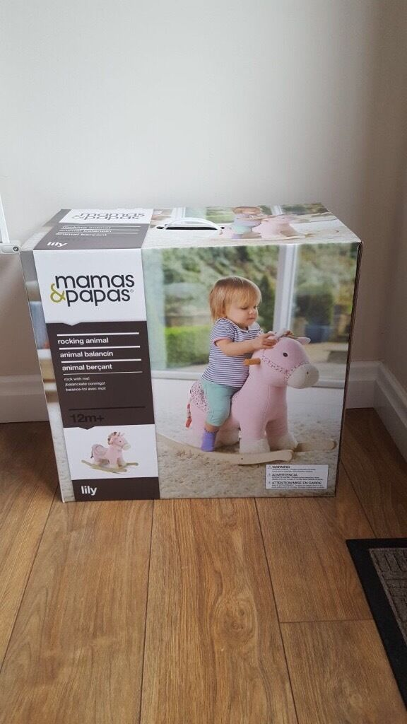 New in box Mamaspapas Rocking Horsein Neath, Neath Port TalbotGumtree - Brand new in box never opened ! Mamas & Papas Rocking horse from 12th month