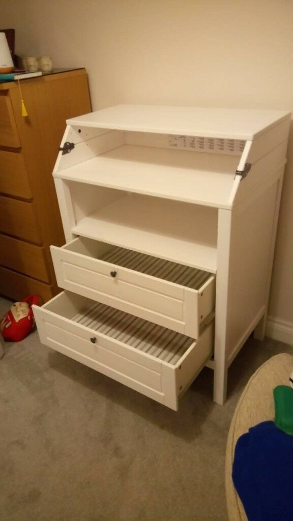 Ikea Sundvik Changing Table Chest Of Drawers 50 Ono