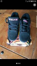 Heelys trainers skates virtually new