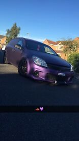 Wrapped Astra Van 59 reg many extra vxr parts included!