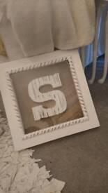 Letter S Frame