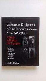 UNIFORMS & EQUIPMENT OF THE IMPERIAL ARMY 1900-1918. A study in period photographs. A
