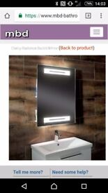 Clarity radiance back lit mirror NEW