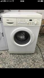 Bosch washing machine 6kg 1200rpm Full Working 4 month warranty free delivery and installation