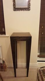 2 x Tall solid wood tables - Great Condition- SOLD