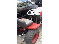tractor bolens model 1250 petrol engine start on pull cord ready to go