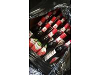 Drinks to clear , 26 pallets , out of date cheap , bankrupt stock , surplus , wholesalers ,