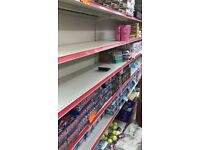 RETAIL/SHOP SHELVING UNITS - GOOD CONDITION - MUST GO
