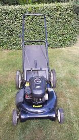 Petrol Lawn Mower Push along very light and easy to use
