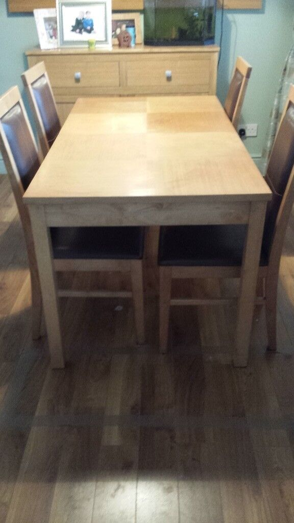 Extendtable Dining Table And Chairs In Castlereagh Belfast Gumtree