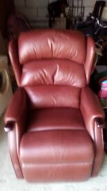 Leather recliner chair from HSL