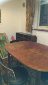 Gplan extending dining table retro mid century