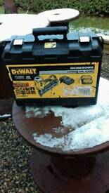 Dewalt first fix nail gun box only