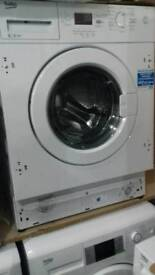 Integrated wash machine Beko 8kg new never used offer sale £188