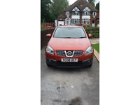 Nissan Qashqai Accenta 1.5dci complete car as spares repairs or salvage parts only