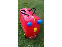 Trunki Frank The Fire Engine Ride on Suitcase