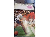 Football Books Bobby Moore plus other